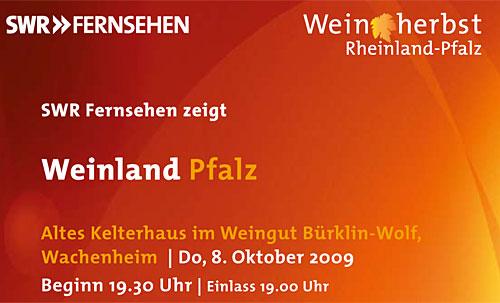 Weinland Pfalz SWR