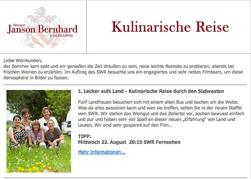 Newsletter Sommer 2012