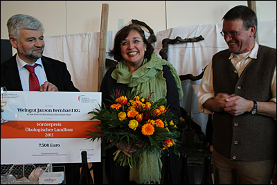 Verleihung des Förderpreises Ökologischer Landbau 2011