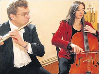 Konzert Cello und Flöte