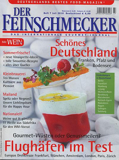 Feinschmecker-Lob