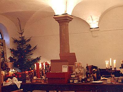Advent im Weingut