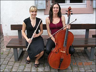 Jennifer Seubel und Isabel Eichenlaub