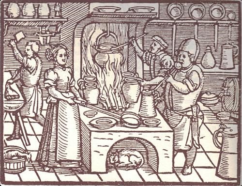 Küchengeheimnisse des Mittelalters